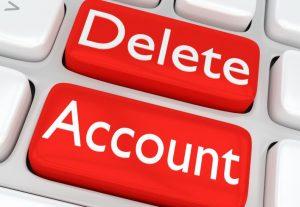Delete Online Accounts